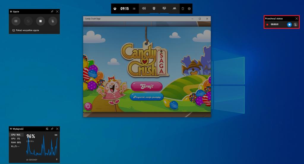 przechwytywanie ekranu windows 10