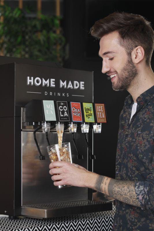 urządzenie do napojów gazowanych